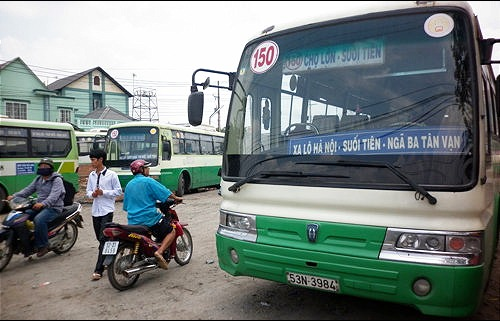 Ho Chi Minh City bans intercity buses, limiting passenger coaches